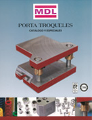 Catálogo Porta Troqueles y Componentes MDL